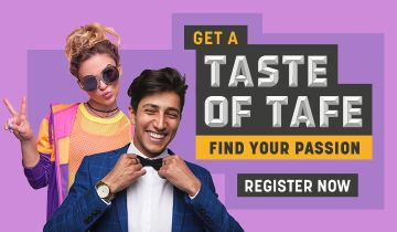 Come to a Taste of TAFE Day