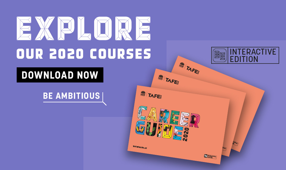 Be Ambitious. Download the interactive 2020 Career Guide and discover which of our 1,200 courses are right for you.