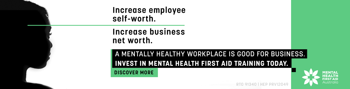 A mentally healthy workplace is good for business