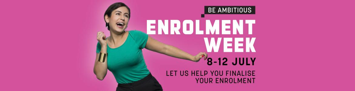 Enrolment week 2019