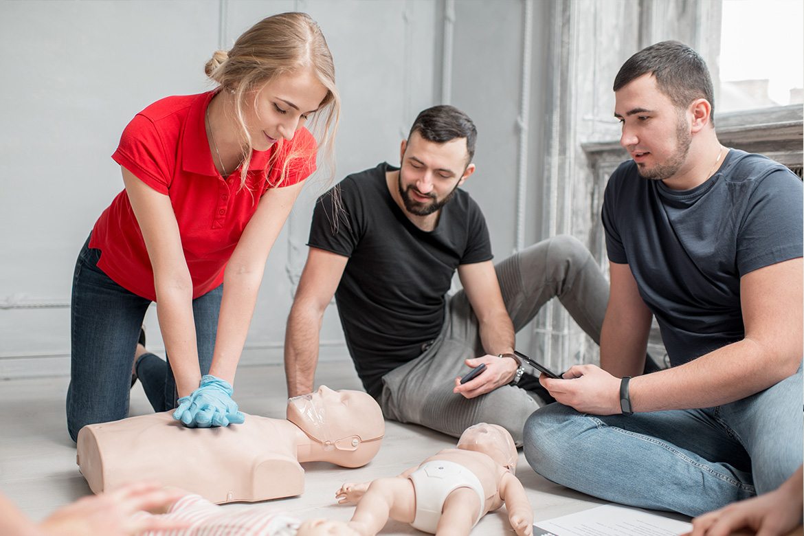 Short courses in First Aid for your team