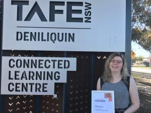 'It changed my life': TAFE NSW course lights Georgie's pathway to success